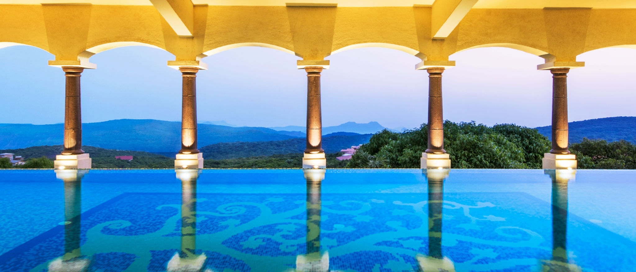 Le Méridien Mahabaleshwar Resort & Spa : Infinity Pool